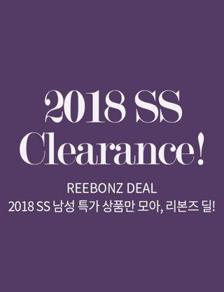 2018 SS Clearance!: REEBONZ DEAL
