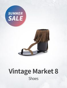 Vintage Market 8 : Shoes