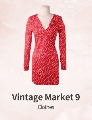 Vintage Market 9 : Clothes