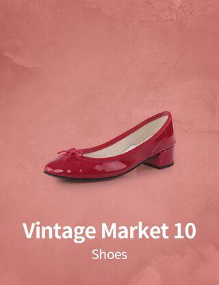 Vintage Market 10 : Shoes
