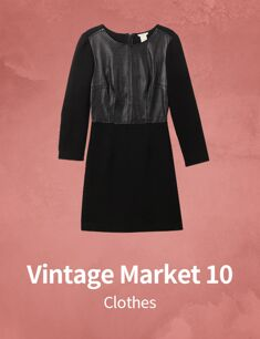 Vintage Market 10 : Clothes