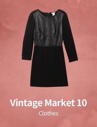 Vintage Market 10 : Clothes