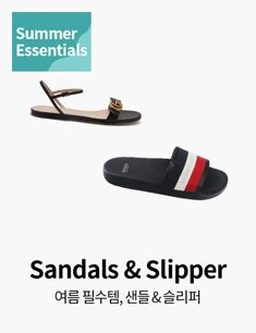 Summer Essentials, Sandals & Slipper