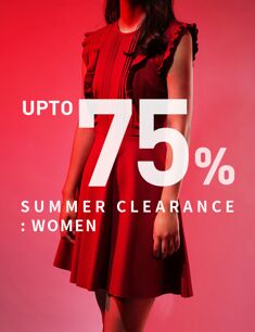 SUMMER CLEARANCE : WOMEN