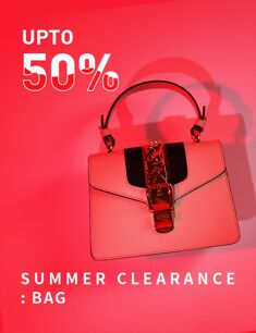 SUMMER CLEARANCE : BAG