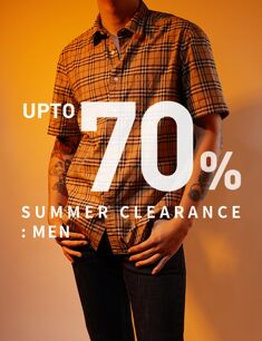 SUMMER CLEARANCE : MEN