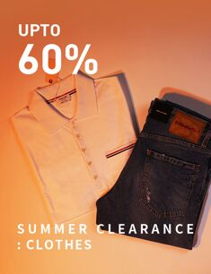 SUMMER CLEARANCE : CLOTHES
