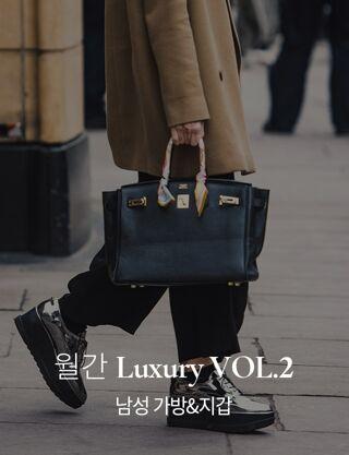 월간 Luxury VOL.2 (남성 가방&지갑)