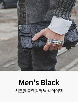 Men's Black