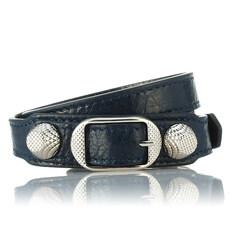 Balenciaga Giant Silver Wrap Around Bracelet