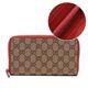 Gucci Canvas Zip Around Continental Wallet