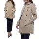 Burberry The Kensington Medium-Length Heritage Trench Coat