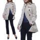 Burberry Women's Kensington Mid Trench Coat
