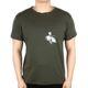 발렌티노 남성 카키 마리포사 반팔 티셔츠 MV3MG07S 470 L90
