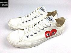 꼼데가르송 플레이 X 컨버스 척 테일러 로우 AZ-K114-001-2 sneakers 스니커즈