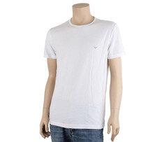 알마니 남자 라운드넥 반팔 티셔츠 7P722 111267 화이트