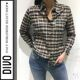 Isabel Marant - 《디보》*시즌오프세일**이자벨마랑 네이비 체크 셔츠 CH0130