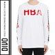Hood by Air - 《디보》*시즌오프세일**HBA 레드에나멜로고화이트티셔츠15001015