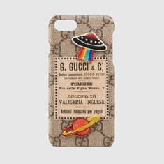[정품] Gucci 구찌 Gucci Courrier iPhone 7 케이스 473913 K9GRT 8919