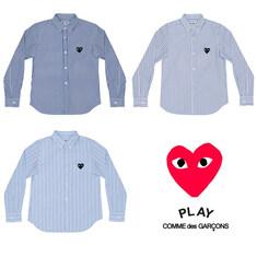 [일본정품] 꼼데가르송 남성 스트라이프 셔츠