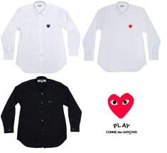 [일본정품] 꼼데가르송 남성 기본와펜 셔츠