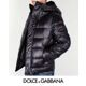 Dolce&Gabbana - Sale 돌체 맨 뉴플레이트 다운패딩 G9AW9G G7SB2 네이비