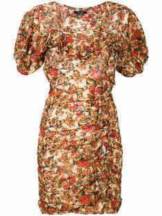 Isabel marant Face Ruffled Mini Dress