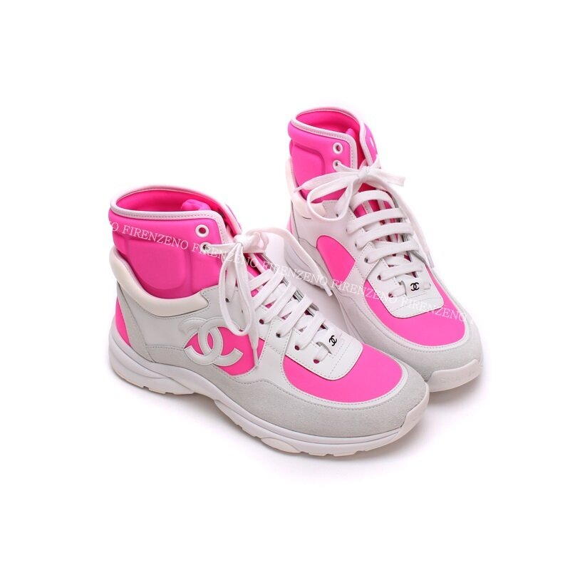 5c568e4d19d 샤넬 여성 핑크 스니커즈 및 운동화 핑크 칼라 - 리본즈 코리아(REEBONZ ...