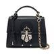 Small Top Handle Bag 21 H054 NERO