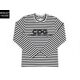 [CDG] 꼼데가르송 SZ-T004-051-1 Border 보더 티셔츠