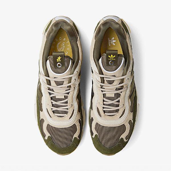 separation shoes 40fb2 fd31a 공용)아디다스 x 세인트 알프레드 템퍼 런 클리어브라운 ...