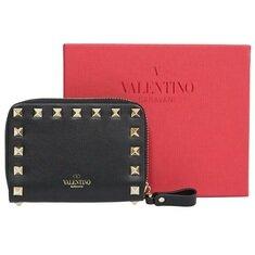 Valentino Garavani Rockstud Zipper Card Case