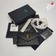 [생로랑]국내배송_SAINT LAURENT 모노그램 엔밸롭 체인 지갑 숄더백 - 393953 - 블랙 금장