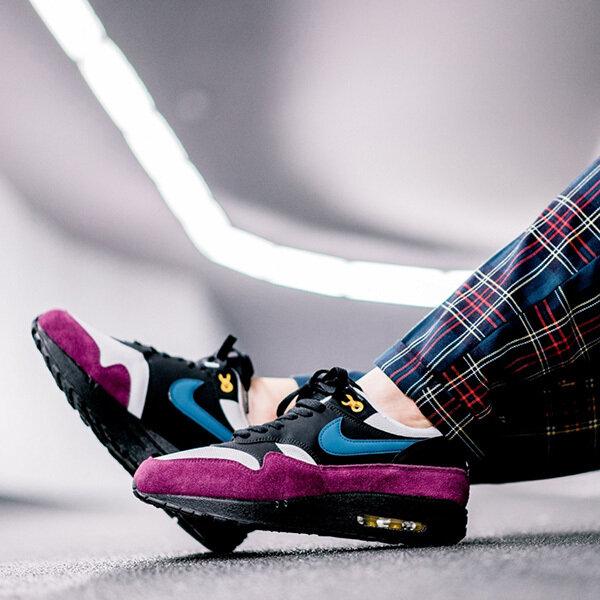 Nike WMNS Air Max 1 (BlackGeode TealLight Silver