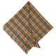 Burberry Half Mega Check Vertigo Cashmere Scarf