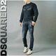 Dsquared2 - ◆인천 데님샵◆ [19SS] 디퀘 레드패치 워싱 블랙 TD 바이커