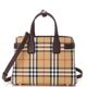 Burberry Vintage Check Small Banner Tote