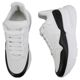 Alexander McQueen Men's Runner Over Sole Sneakers