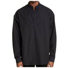 준지 남성 만다린 칼라 셔츠 블랙 JC9364P015 국내배송
