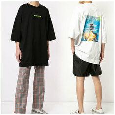 준지 오버핏 5부소매 티셔츠 JC9342P235 JC9342P231 국내배송