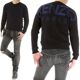 겐조 19SS 5PU204 블랙 백 로고 스웨터
