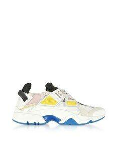 Pink Sonic Velcro Sneakers