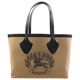 Burberry Vintage Check Crest Medium Giant Knitted Tote