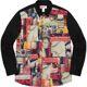 Supreme 18fw Supreme x Comme Des Garcons Patchwork Shirt (슈프림 꼼데가르송 패치워크 셔츠 /정가판매) uni Shirt Stdoors011