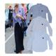 [19SS/빠른배송] 여성 스트라이프 꼼데가르송 셔츠