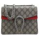 Gucci Red/Beige/ebony GG Supreme canvas women Shoulder bag 421970KHNRN8698