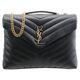 Saint Laurent Medium Loulou Monogramme Chain Bag