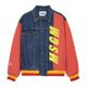 Msgm 19ss 남성 Multicolor Bomber Jacket (blue) 블루 2640mh45l 195284 88 19 S/S