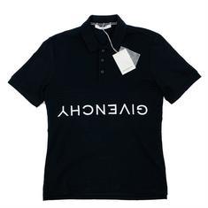 [이탈리아곰]19SS  지방시 로고 PK 블랙 티셔츠 BM70J73006 001