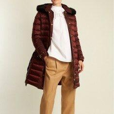 버버리 버건디 여성 패딩 버버리애쉬무어 패딩 sale